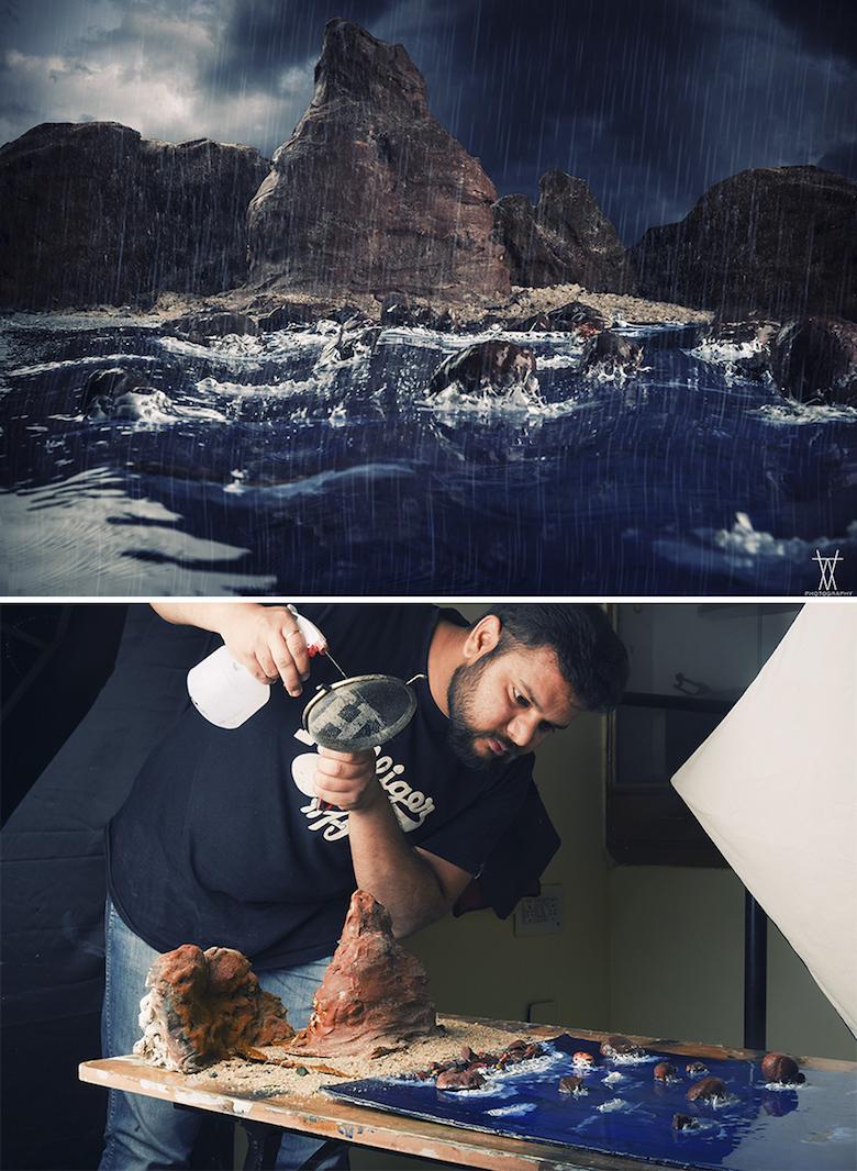 Photographer Creates Epic Outdoor Scenes Using Miniature