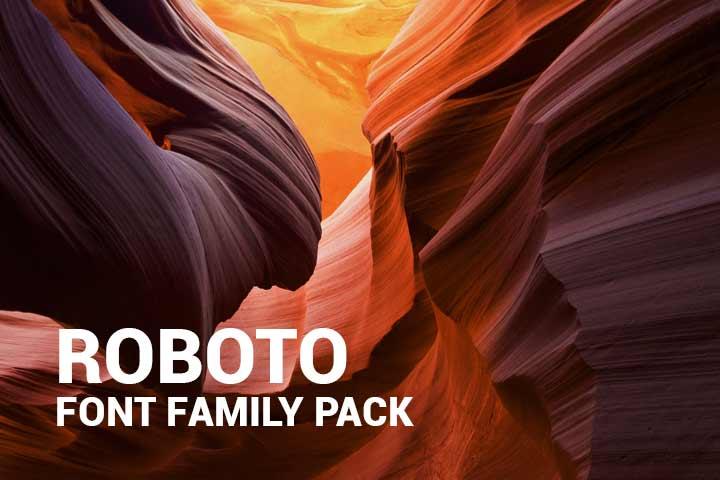 Download Roboto-Font-Family-Pack - Digital Template Market