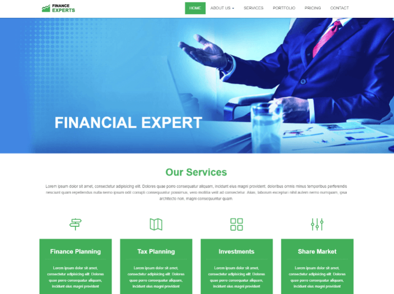 Finding one may seem overwhelming. 29 Best Free Business Html Website Templates 2021