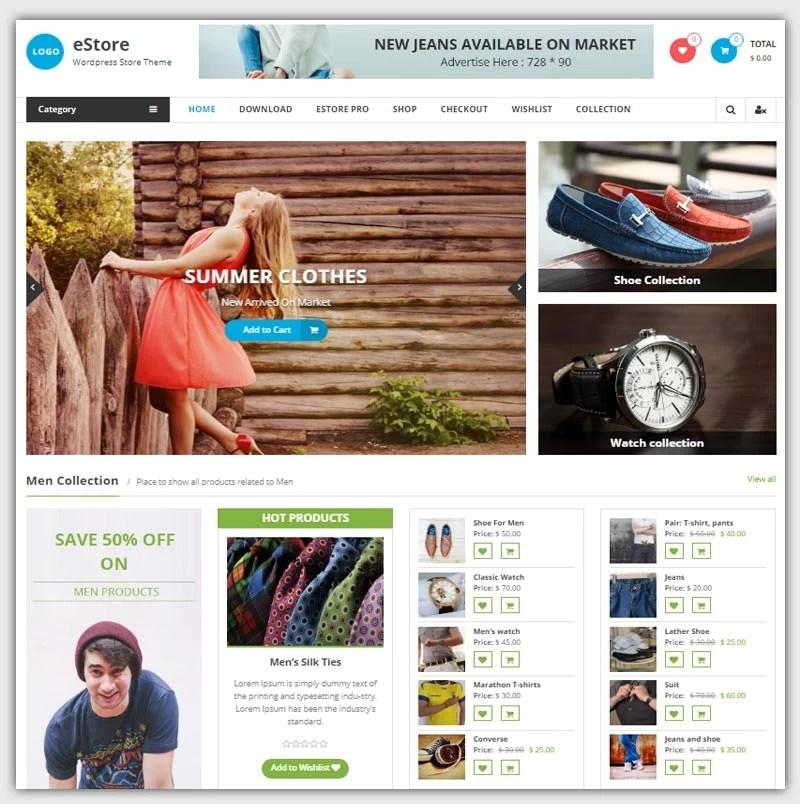 Estore-theme-gratuit-WordPress-responsive-boutique