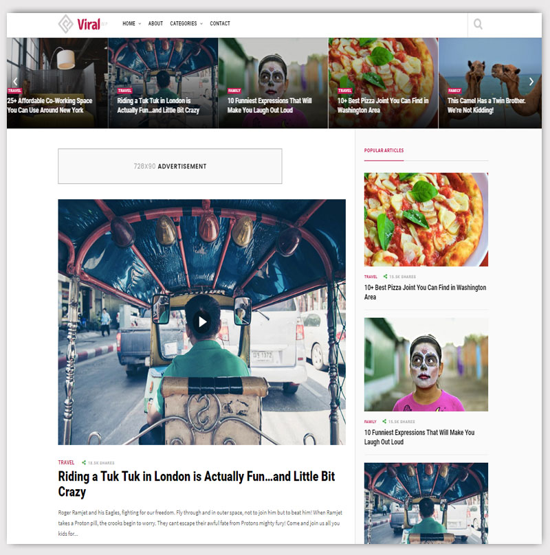 Viral-Magazine-WordPress-Theme
