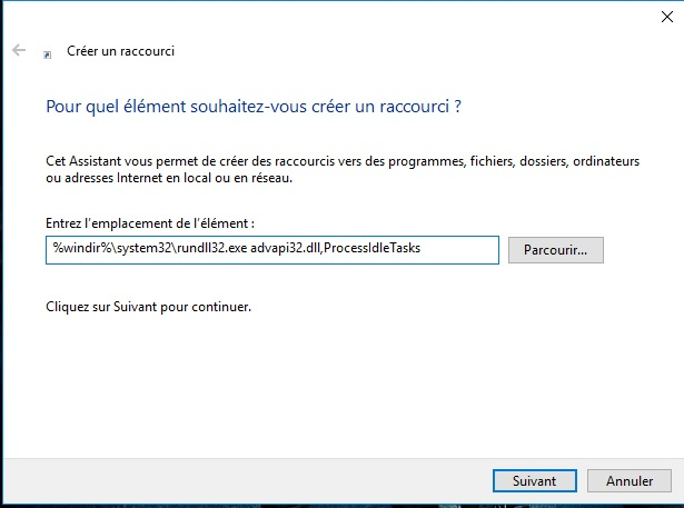 raccourci-vider-mémoire-cache-windows-10