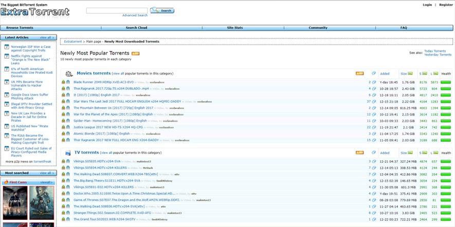 Vitesse datation torrent français