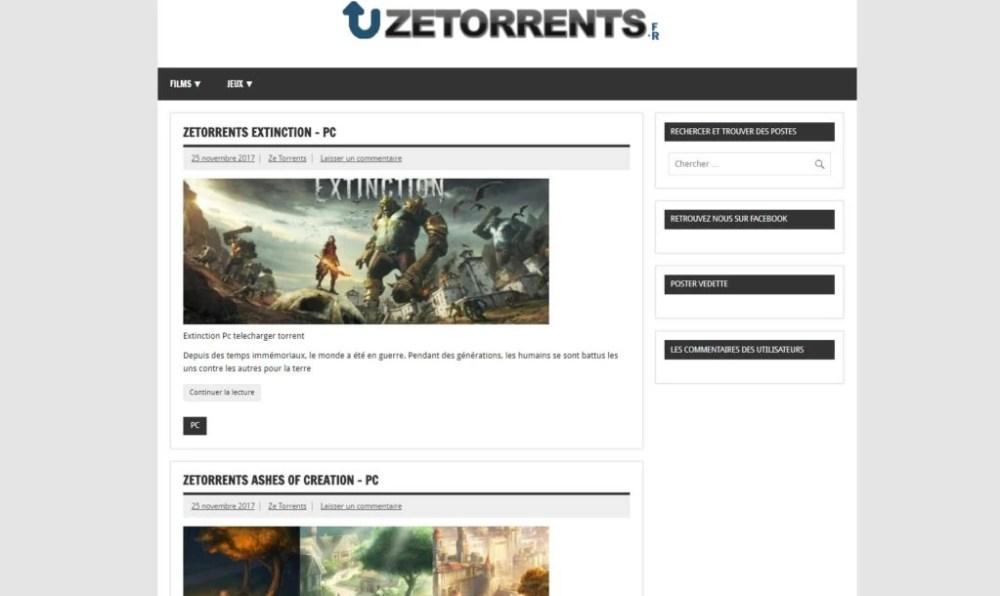 zetorrents-Torrent Français