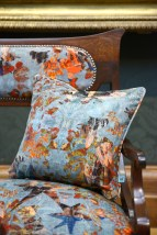 Blackpop designs fabulous fabrics in response to the National Portrait Gallery's world renound Tudor paintings.