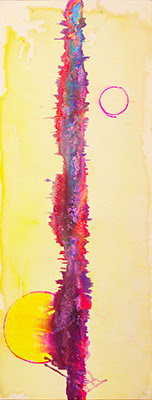 Plaisance (2009) - Acrylic on Canvas - 68x26 in