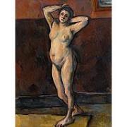 Paul Cezanne Standing Nude