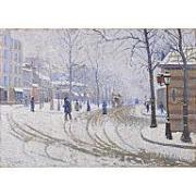Paul Signac Snow Boulevard de Clichy