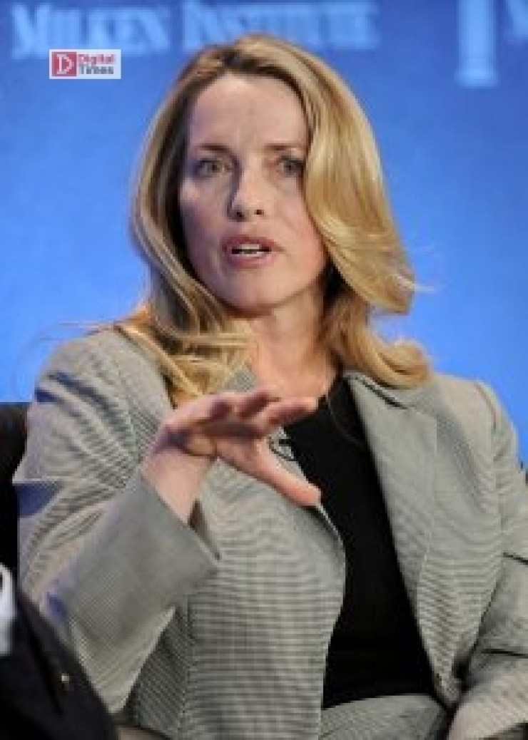 "Laurene Powell Jobs, founder and chair of Emerson Collective and widow of the late Apple founder Steve Jobs, takes part in a panel discussion titled ""Immigration Strategy for the Borderless Economy"" at the Milken Institute Global Conference in Beverly Hills, California April 29, 2013. REUTERS/Gus Ruelas (UNITED STATES - Tags: BUSINESS) - RTXZ430"