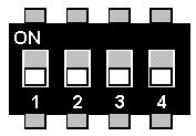 Maerklin Delta Decoder dip switches