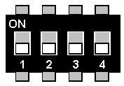 Maerklin Delta Decoder dip switches