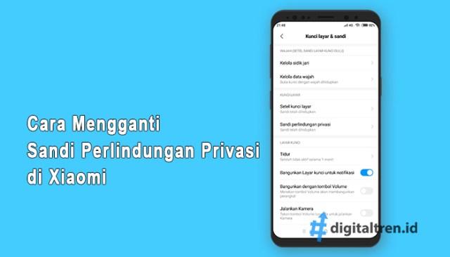 Sandi Perlindungan Privasi di Xiaomi