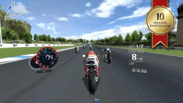 Game Balapan Motor Offline untuk Android
