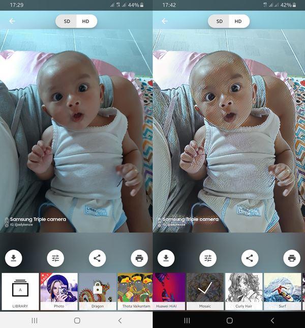 Cara Mengubah Foto Menjadi Sketsa di Android
