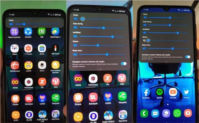 Cara Mematikan Suara Kamera di Hape Samsung One UI