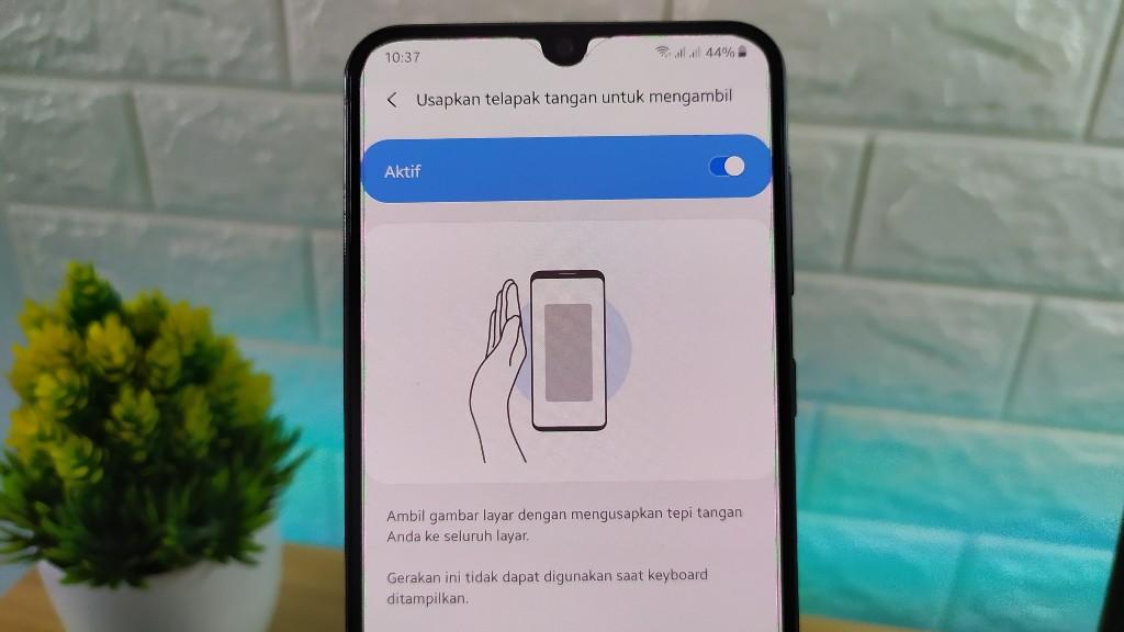 cara mengambil screenshot di samsung