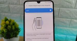 Cara Mengambil Screenshot di Samsung dengan Usap Layar