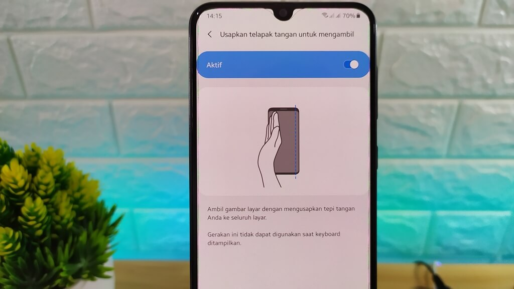 cara screenshot di samsung galaxy a10s