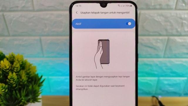 Cara Screenshot di Samsung Galaxy A10s, A20s, A30s dan A50s