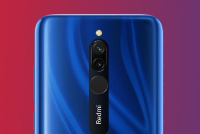 Xiaomi Redmi 8 Kamera