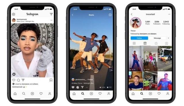 Instagram Reels Resmi Diluncurkan di 50 Negara