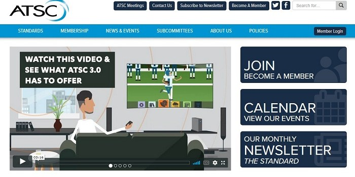 ATSC Releases New OTA 3.0 TV for Broadcasts and Transmissions