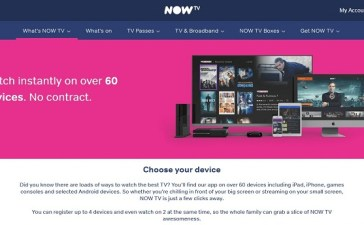 Now TV: Sky Releases a Stand-Alone Live TV Streaming in the UK