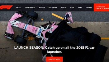 Formula 1 Announces New F1 TV Subscription Service