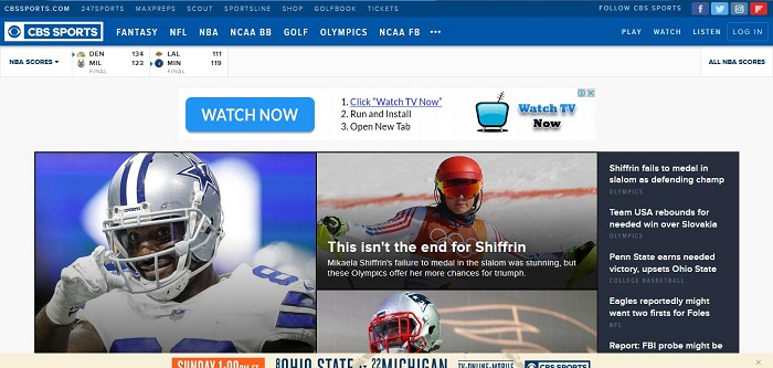 New CBS Sports Streaming Service Expected to Launch This Month