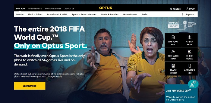 Australian PM Turnbull Weighs in on Optus' World Cup Issue