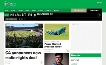 Cricket Australia Finalizes Partnership with Three Media Companies