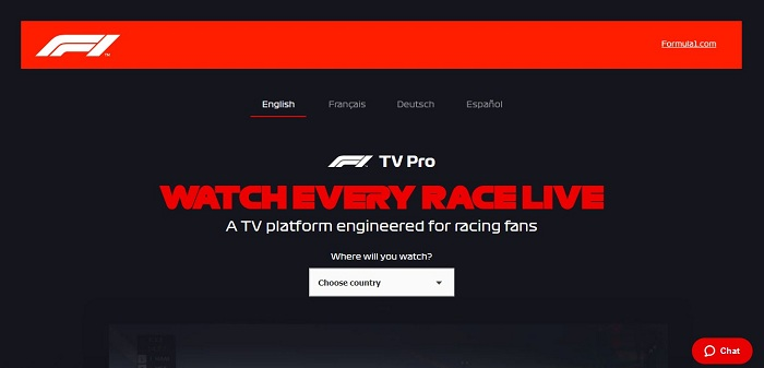 Formula One's F1 TV Channel to be Launched in Amazon Prime