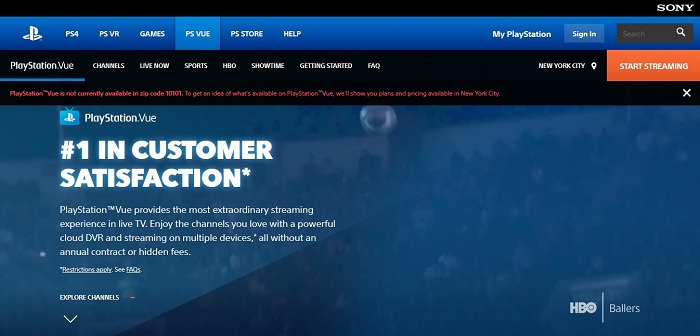 More Channels Added to PlayStation Vue to Extend Customer Reach
