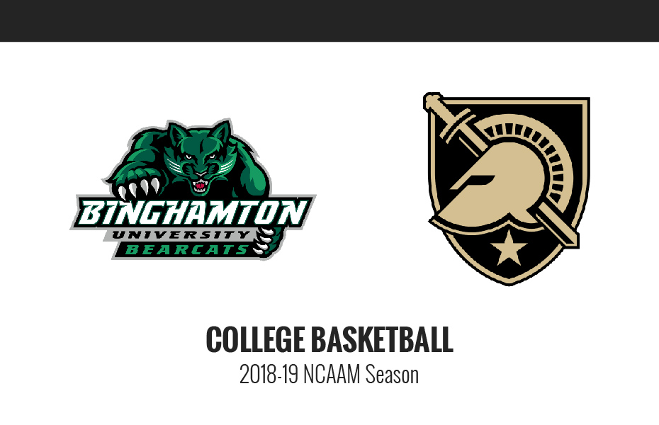 Binghamton vs army live stream: watch college basketball online.
