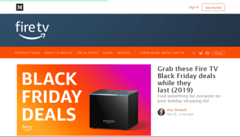 Amazon's Black Friday Sale Offers up to 50% Off on Fire TV Devices