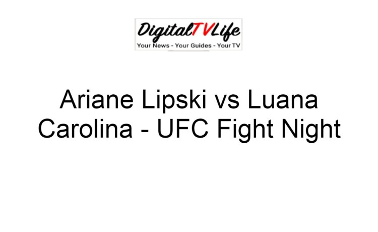 Ariane Lipski vs Luana Carolina