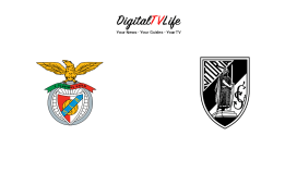 Benfica and Vitoria SC