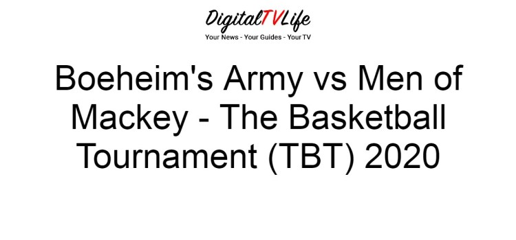 Boeheim's Army vs Men of Mackey