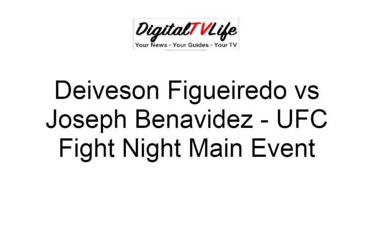 Deiveson Figueiredo vs Joseph Benavidez