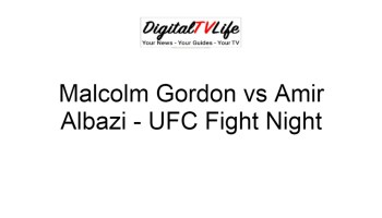Malcolm Gordon vs Amir Albazi