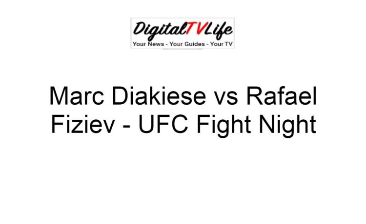 Marc Diakiese vs Rafael Fiziev
