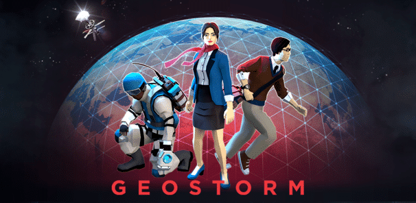 Geostorm The Game Title