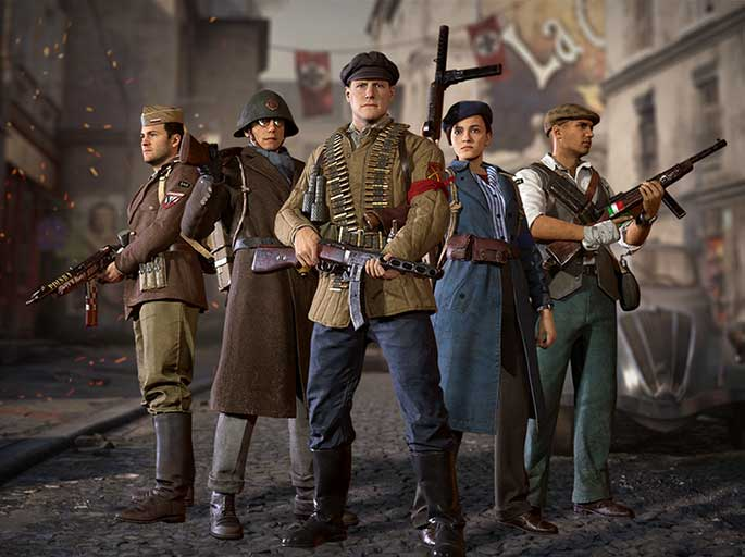 Call Of Duty: WWII - The Resistance DLC