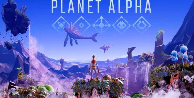 Planet Alpha Adventure Game Title