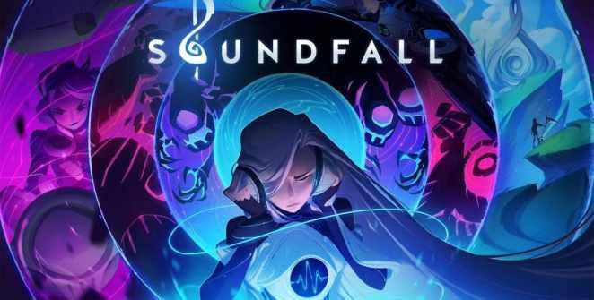 Soundfall Rhythmic Dungeon Crawler Title