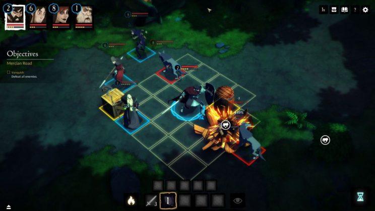 Sword Legacy: Omen Tactical RPG ss2