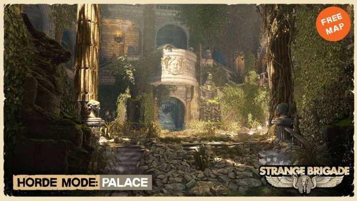 Strange Brigade Unveils New Content Palace