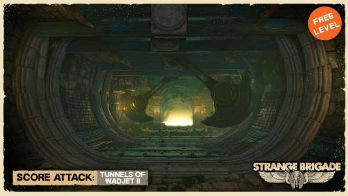 Strange Brigade Unveils New Content Tunnels of Wadjet