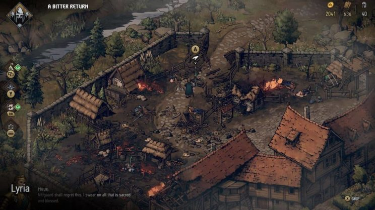 Thronebreaker: The Witcher Tales ss1