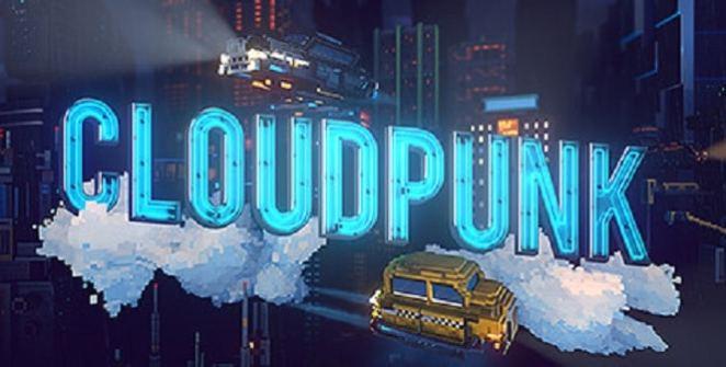 Cloudpunk Title